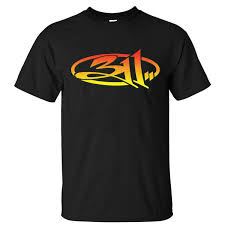 311 Design Summer Clothing Crew Neck Top Band 311 Band Logo Colorful