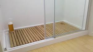 fullsize of corner bamboomaterial bath mat toger glass sliding bath shower mat bamboo photo bathroom design