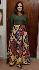 African Pattern Dress Delectable Maxi African Pattern Skirt