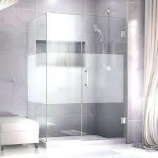 frosted glass shower doors showers door corner unit bathroom enclosures trackless full size of
