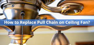 replace a ceiling fan pull chain switch