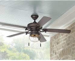 Rustic Farmhouse Ceiling Fan With Light