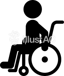車椅子に乗った人 福祉 医療イラスト No 1569575無料イラストなら