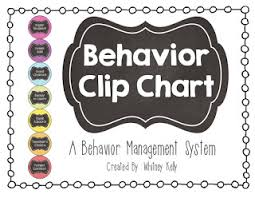 Davis Clip Chart Behavior Management System The Kelly Teaching Files