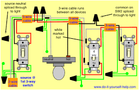 way switch wiring diagrams do it yourself help com 4 way switch light center
