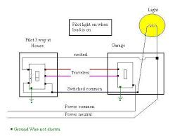 wiring diagram for three way switches pilot light electrical wiring diagram for three way switches pilot light pilot light 3