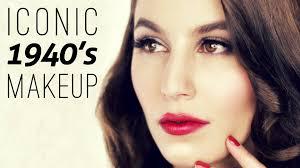 iconic 1940 s makeup tutorial