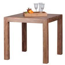 Esszimmertisch Konya Tisch Esstisch Akazie Massivholz 76x80x80cm
