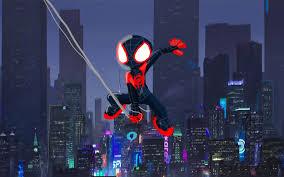 3840x2400 spiderman into the spider verse artwork 4k hd 4k