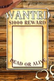 Wanted Poster Template For Pages 230 Customizable Design Templates For Wanted Poster Postermywall