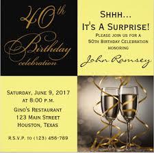 40th Birthday Invitations Free Templates 16 40th Birthday Invitations Psd Vector Eps Ai Free