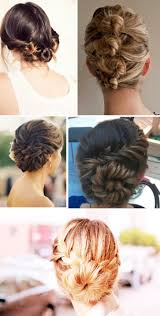 Different Bun Hairstyles 18 Best Images About Hair Buns On Pinterest Double Headband