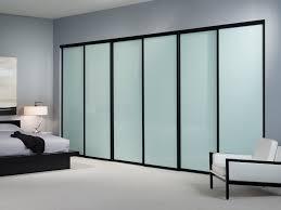 sliding closet doors with glass panels impressive glass closet