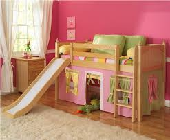 bunk beds with slides cool kids amusing cool kid beds design