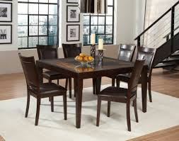 square glass top dining table tables