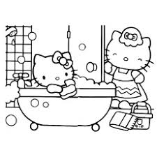 Find out the hello kitty coloring pages that will just give your little one immense fun. Top 75 Free Printable Hello Kitty Coloring Pages Online