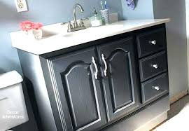 Painting bathroom vanity before and after Chalk Paint Painting Bathroom Vanity Before And After Chalk Paint Bathroom Cabinets Bathroom Vanity Makeover On Small Sweet Revenge Painting Bathroom Vanity Before And After Thebetterwayinfo