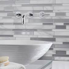 smart tiles tile backsplashes tile the home depot gray backsplash
