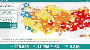 23 Temmuz Türkiye'de koronavirüs tablosu