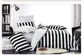 black white sheets