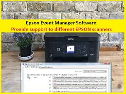 Epson event manager allows you to assign any of the product buttons to open a scanning program. Epson Event Manager Software Offers To Configure Scanner Button
