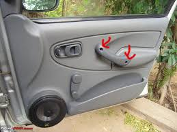 diy guide how to remove door panels tata indica step 1