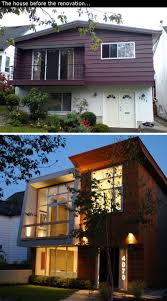 House Renovation Ideas  Inspirational Before  After - Exterior house renovation