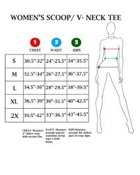 Womens Size Charts Lucky13apparel