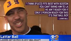 Lavar Ball Quotes Extraordinary The Ball Family Watches The Draft Lottery Live LaVar Says Fultz Not
