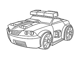 Small Picture Chase police bot coloring pages for kids printable free Rescue