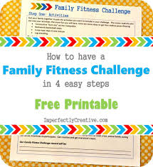 how to have a family fitness challenge in 4 easy steps 1