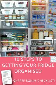 Huge Refrigerator 105 Best Fridge And Freezer Organisation Images On Pinterest
