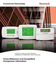 Honeywell Thermostat Cross Reference Chart Cross Reference And Competitive Comparison Pex Universe