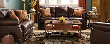 Alexander Traditional Leather Living Room Collection | Design Tips U0026 Ideas  | Raymour And Flanigan Furniture