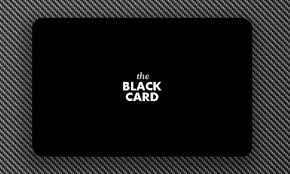 Image result for black card