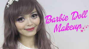 barbie doll makeup tutorial hey guys this tutorial is going to show you how to look like a barbie doll dollfie doll or asian doll as people sometimes