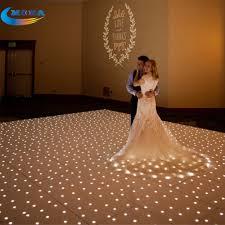 floor led lighting. 12x12 feet star light make dmx led dance floor disco with flight case lighting w