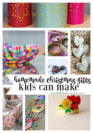 Unique Handmade Gifts Kids Can Make  Homemade Crafts Christmas Homemade Christmas Gifts That Kids Can Make