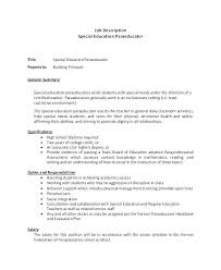Sample Special Education Teacher Resume Unique Education Resume ...