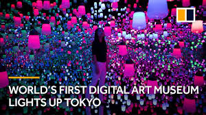 Tokyo Museum Of Light World S First Digital Art Museum Lights Up Tokyo Japan