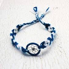 Dream Catcher Braclet Blue Dream Catcher Bracelet string friendship bracelets 1