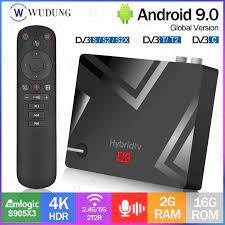 MECOOL K5 Amlogic S905X3 DVB S2/T2/ Android 9.0 Smart TV Box 2.4G 5G WIFI  BT 4.1 2GB 16GB 4K HDR Set Top BOX PK K3 K7 TV BOX|Set-top Boxes