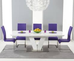 purple leather dining chairs uk. mark harris malibu purple faux leather dining chair (pair) chairs uk a