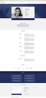 Resume Website Template Professional CV Website Template Wix Website Templates 98