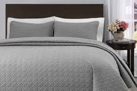 king cal king size light gray quilt coverlet bedspread set quilt coverlet bedspread set