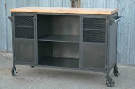 kitchen island cart industrial. Modern Industrial Bar Cart Kitchen Island I