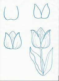 Small Picture The 25 best Easy to draw flowers ideas on Pinterest How to draw