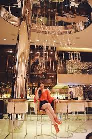 fizz las vegas bar at caesars palace featuring blogger sabina