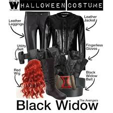 black widow cosplay maybe a good costume for next year ideas marvel diy