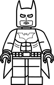 Small Picture Lego Batman Coloring Page Wecoloringpage